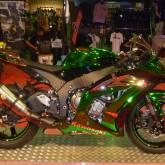 Kawasaki Full Chrome Vert