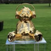 Ours en Bronze - Artiste JONATHAN DELMAS