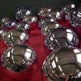 Série boules chrome argent