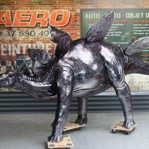 Dinosaures Chrome Noir | image